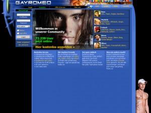 Gayromeo.at - für Männer die ein Abenteuer suchen