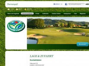 Thermengolfclub Fürstenfeld - Loipersdorf