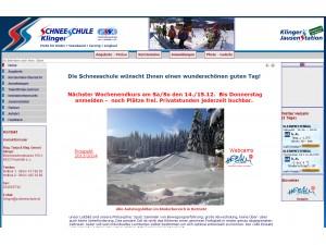 ErlebnisSchneeSchule Klinger (Hebalm)