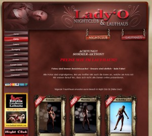 Lady'O - Nichtclub & Laufhaus