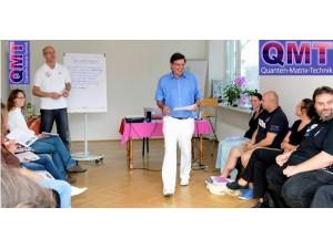 QMT-Quanten-Matrix-Technik© = die Aktivierung der Selbstheilungskräfte ohne Fremdenergie