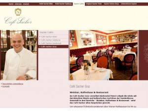 Café Restaurant Sacher-Graz