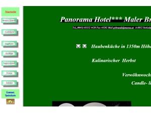 Restaurant - Panorama Hotel*** Maler Brands