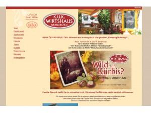 k.u.k. Wirtshaus Weißkirchen