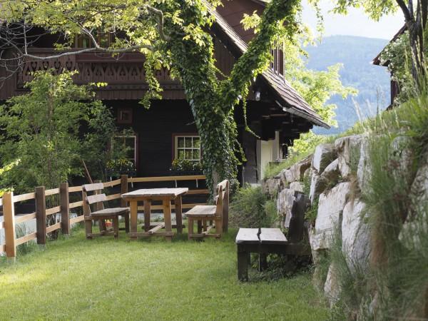 Ferienhaus Garten