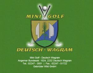 Minigolf Deutsch Wagram
