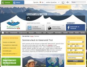 Informationsbüro Schwendt - Tourismusverband Kaiserwinkl