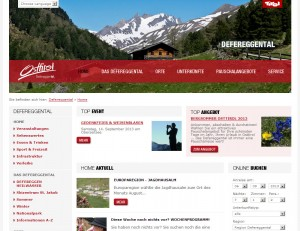 Tourismusinformation Defereggental  - Urlaubsparadies Osttirol