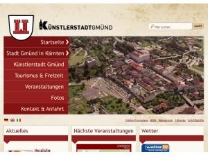 Gästeinformation der Künstlerstadt Gmünd