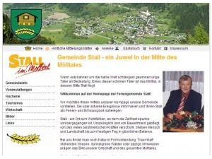 Tourismusbüro Stall  - Hohe Tauern - Kärnten