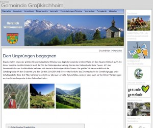 Tourismusbüro Großkirchheim - Hohe Tauern - Kärnten