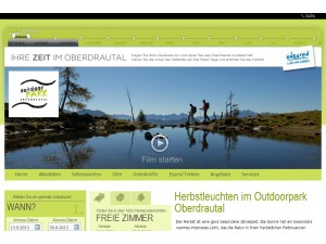 Outdoorpark Oberdrautal - Tourismusinformation