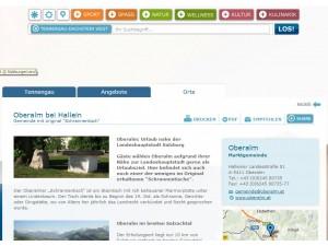 Tourismusinformation Oberalm bei Hallein