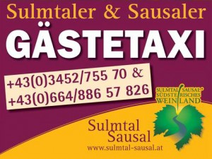 Gästetaxi - Sulmtal Sausal