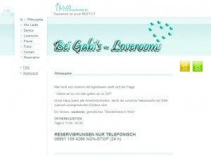 Bei Gabi's - Loverrooms