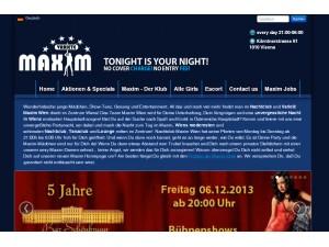 Nightclub Maxim Wien