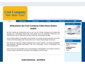 Cool Company Kälte - Klima - Gastro GmbH