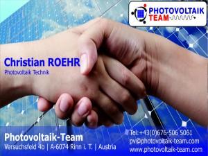 PHOTOVOLTAIK TIROL ROEHR 0676 506 5061