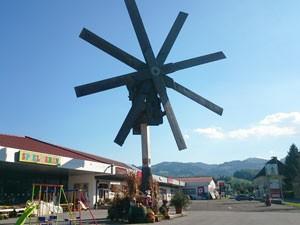 Weltgrößter Klapotetz in Leutschach