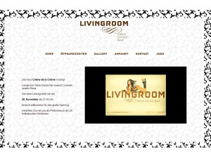 Livingroom - Tabel Dance Bar