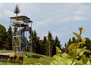 Panoramaturm beim Buschenschank Garber