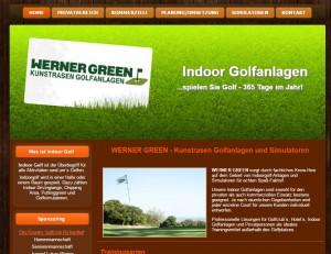WERNER GREEN-Kunstrasen Golfanlagen