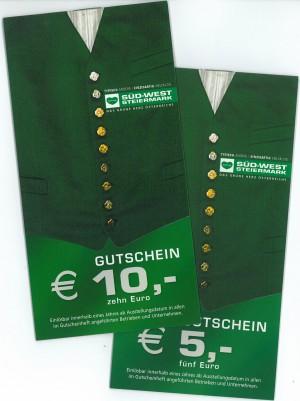 Regionsgutschein für die Süd & West Steiermark