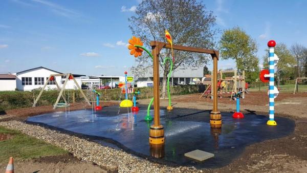 Wasserspielplatz im Römerdorf