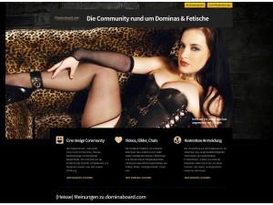 Dominaboard.com ist der optimale Treffpunkt für Fetisch- und BDSM-Liebhaber
