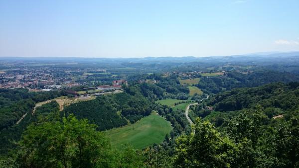 Blick Richtung Schloss Seggau von der Kreuzkogelwarte