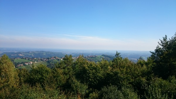 Blick Richtung Kitzeck von der Aussichtswarte Demmerkogel