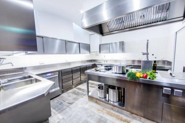 Die moderne Küche im Eventkölla Leibnitz