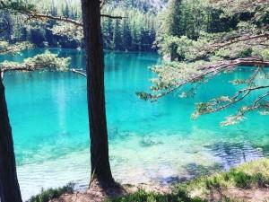 Grüne See bei Tragöß in der Steiermark