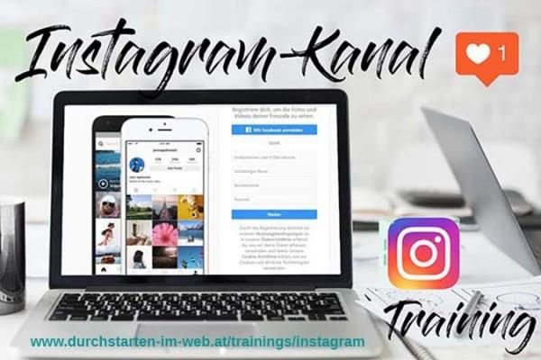 Training vor Ort: Instagram-Kanal