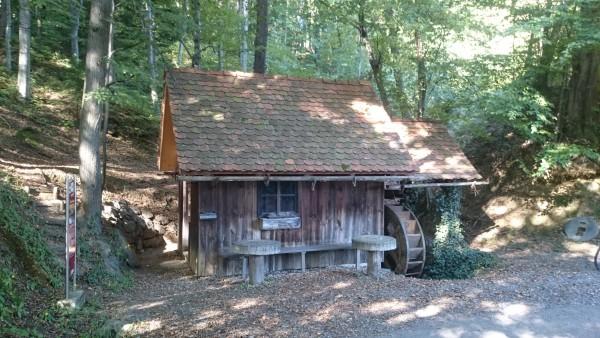 Alte Wassermühle in Eichberg Trautenburg