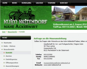 Freilichtmuseum Kulm - Keltendorf