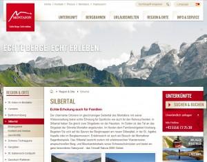 Silbertal im Montafon - Tourismus Information und Tourismusbüro