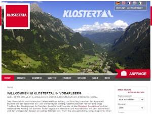 Urlaubsregion Klostertal
