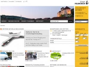 Feldkirch - Tourismusinformation - Urlaubsregion Bodensee