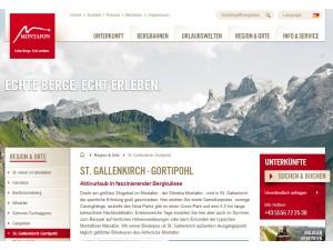 Gortipohl im Montafon - Tourismus Information und Tourismusbüro