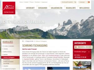 Tschagguns im Montafon - Tourismus Information und Tourismusbüro