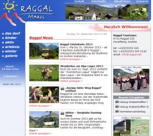Tourismusbüro Raggal-Marul