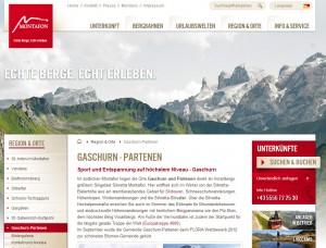 Partenen im Montafon - Tourismus Information und Tourismusbüro