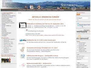 Sulzberg im Bregenzerwald - Tourismusbüro