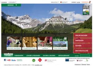 Urlaub am Bauernhof in Vorarlberg
