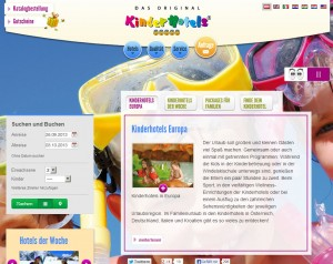 Kinderhotels Europa