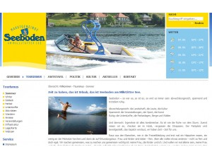Seeboden am Millstätter See - Tourismusinformationen
