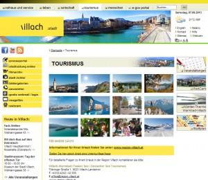 Tourismusinformation Villach Stadt