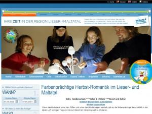 Familienregion Lieser- und Maltatal - Tourismusverband