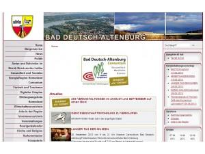 Tourismusbüro - Kurverwaltung Bad Deutsch-Altenburg